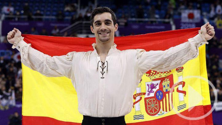 El patinaje de Fernández logra un bronce que sabe a oro