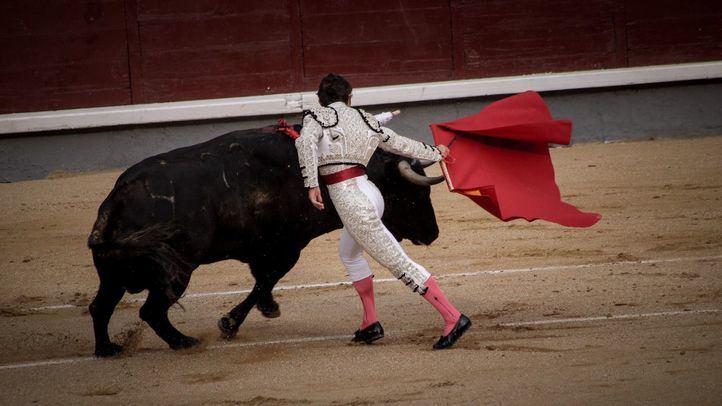 Corrida de toros en la Plaza de toros de Las Ventas.