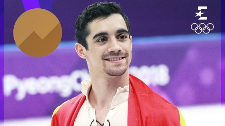 Javier Fernández logra el bronce olímpico