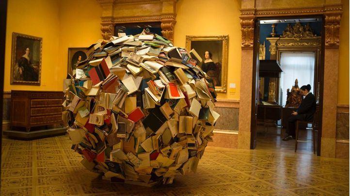 La cuarta edición de Reinterpretada lleva por titulo Archivo 113 de Alicia Martín, en el Museo Lázaro Galdiano.