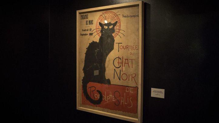 La exposición 'Toulouse-Lautrec y los placeres de la Belle Epoque' en la Fundación Canal, primera vez que una de las dos colecciones completas que existen en el mundo de los carteles creados por Toulouse-Lautrec pisa territorio español.