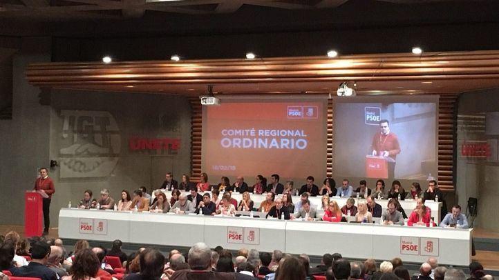 Comité regional del PSOE-M