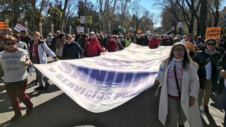 Más de 700 personas participan en la 66ª Marea Blanca