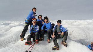 Las cinco mujeres que ha participado en el reto polar