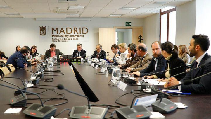 Constitución de la comisión de investigación sobre la compra de Bicimad del Ayuntamiento de Madrid.