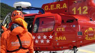 El GERA de Bomberos ha rescatado a un esquiador de 46 años accidentando en Rascafría.