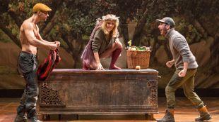 Escena de la obra teatral 'Lulú'.