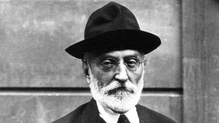 Miguel de Unamuno en 1925.