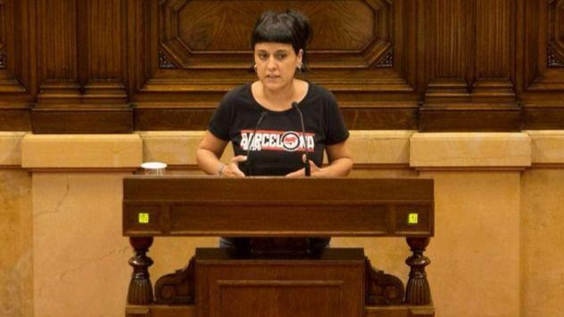 Anna Gabriel ha sido portavoz parlamentaria de las CUP.