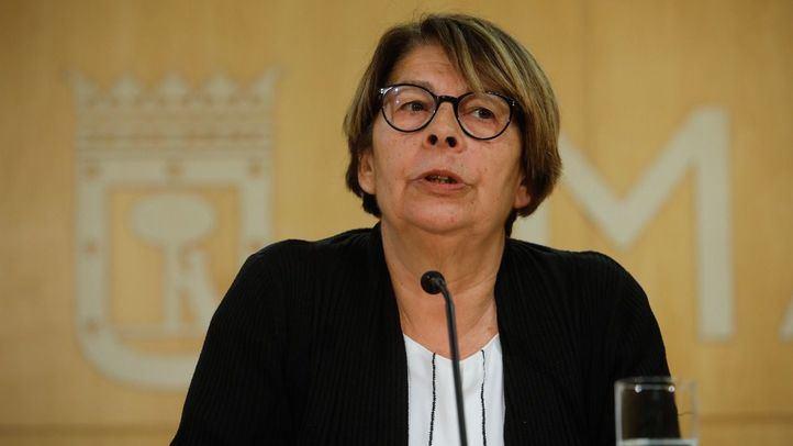 Inés Sabanés, concejala de Medio Ambiente y Movilidad del Ayuntamiento de Madrid.