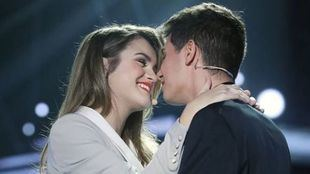 Amaia Romero y Alfred García, representantes de España en Eurovisión 2018.
