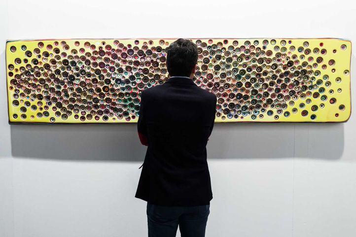FOTOS l Madrid da la bienvenida al arte contemporáneo