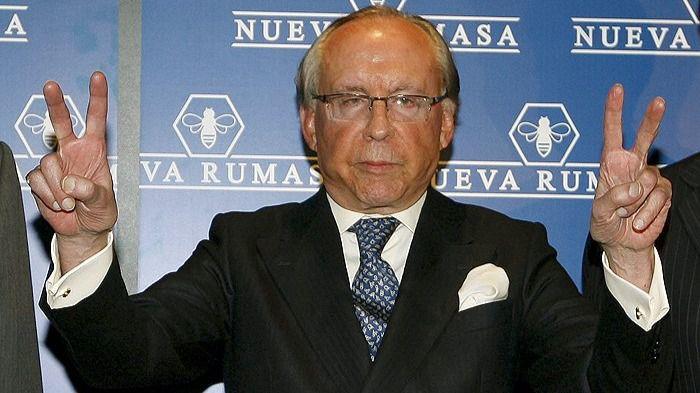 José María Ruiz Mateos, presidente del 'holding de la abeja'.