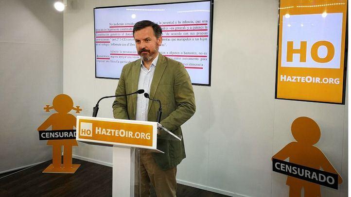 Ignacio Arsuaga, presidente de HazteOir, en una imagen de archivo.