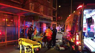 Dos heridos por arma blanca durante una reyerta en Carabanchel