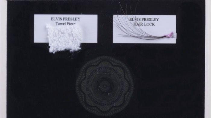 Cuánto pagaría por un mechón de pelo de Elvis Presley y de los ... de1c7e888c279