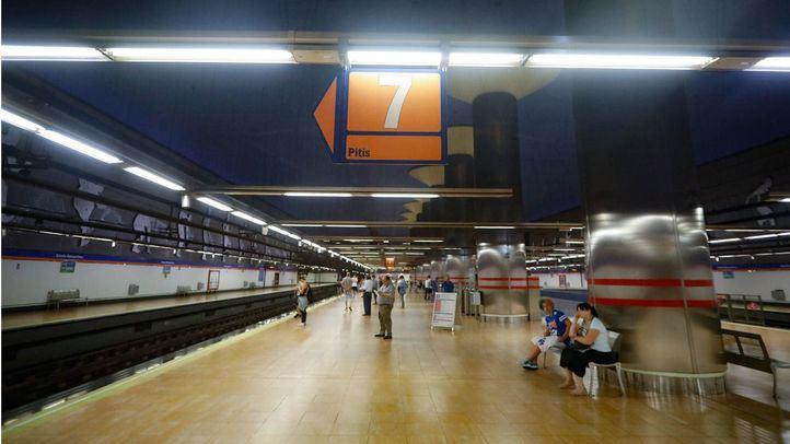 Línea 7, sentido Pitis.