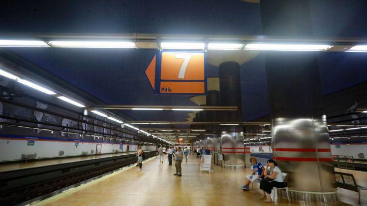 La impermeabilización de la línea 7B de Metro, en marcha