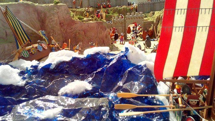 El Mercado del Juguete recrea diversos momentos históricos con más de 1.000 figuras de Playmobil