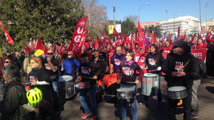 Marcha contra la 'brecha salarial' entre los centros penitenciarios