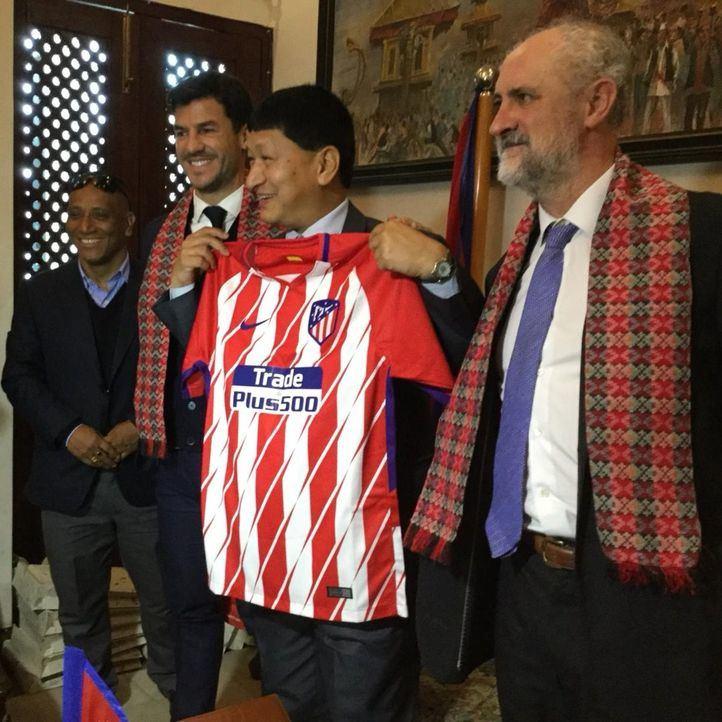El Atlético de Madrid apuesta por Katmandú