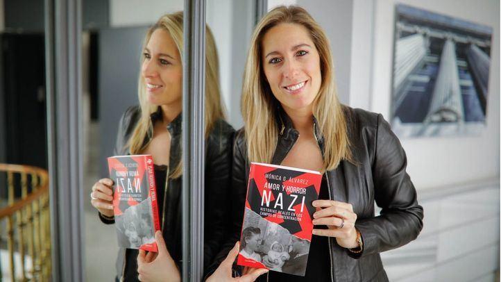 Entrevista a Mónica González Álvarezpor la publicación de su libro 'Amor y horror nazi' en la Terraza de Gran Vía.