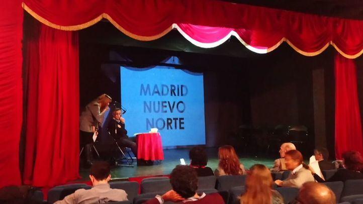 Coloquio sobre Madrid Nuevo Norte en el Teatro Prosperidad.