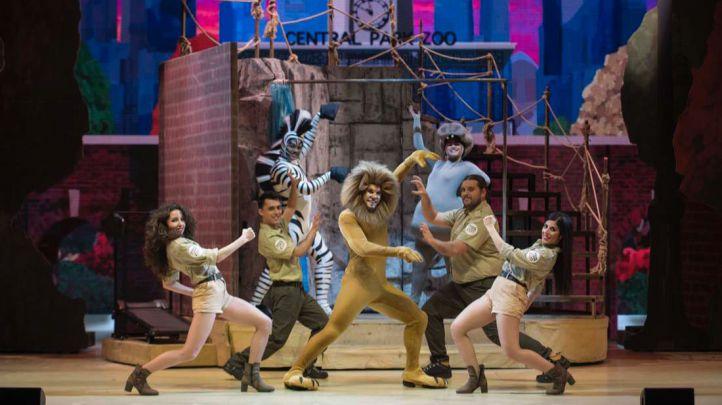 Le invitamos al musical Madagascar