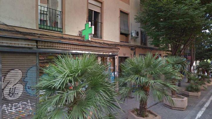 Calle Tribulete, en el barrio de Lavapiés, donde ocurrieron los hechos.