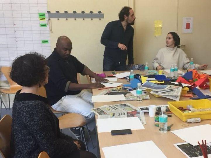 Artistas europeos, migrantes y refugiados se reúnen en Madrid para reflexionar sobre su identidad