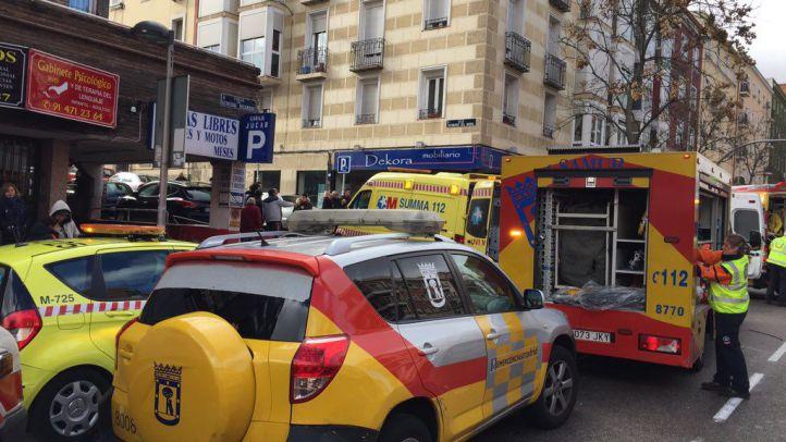 Un conductor sufre hipoglucemia mientras conduce y arrolla a cuatro peatones