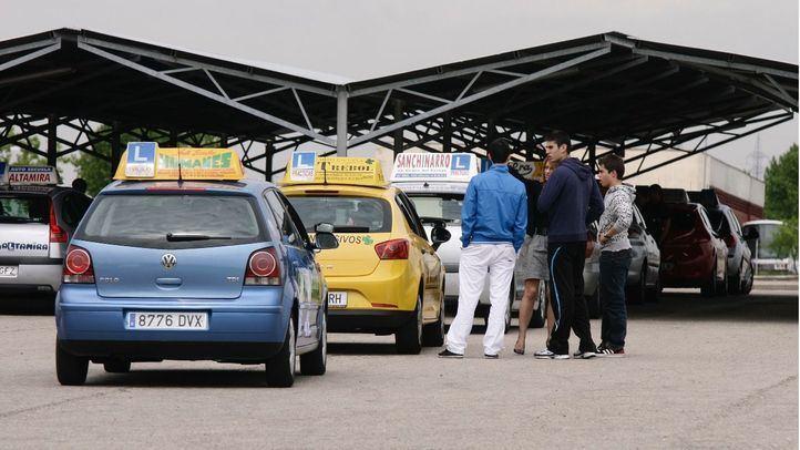 Foto de archivo del centro de exámenes de Tráfico en Móstoles