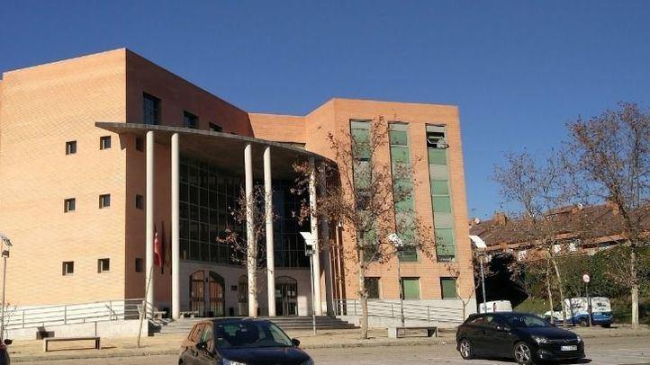 Juzgados de Getafe, lugar del que se fugó el detenido.