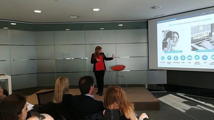 Presentación del Customer Observatorium en Madrid.