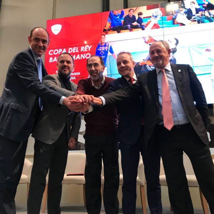 La capital acogerá por primera vez la Copa del Rey de Balonmano