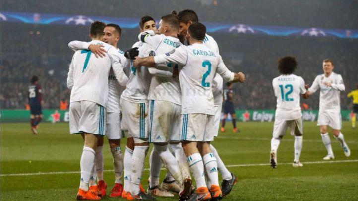 El Madrid saca los galones en París