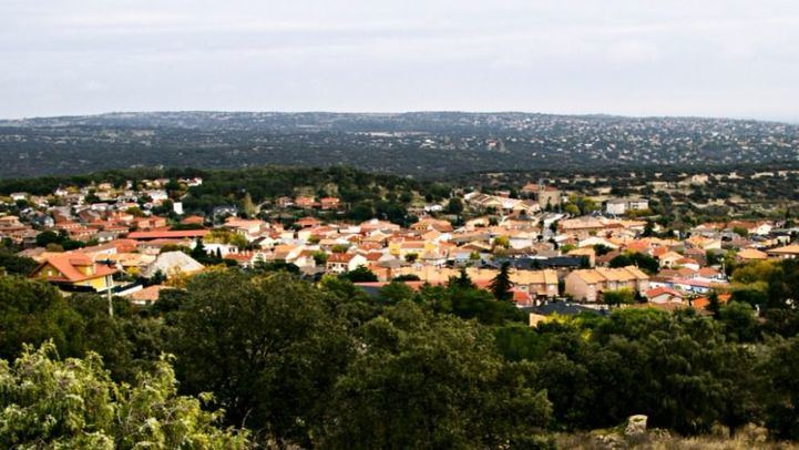 Vista de Navalagamella.