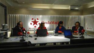 Susana Pérez Quislant y Santiago Llorente, en Onda Madrid