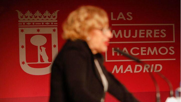 La alcaldesa, Manuela Carmena