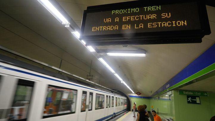 Estación de Suances de la linea 5 de Metro.