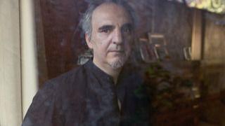 El escritor Daniel Múgica