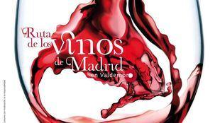 Cartel de la V ruta de los vinos de Madrid en Valdemoro