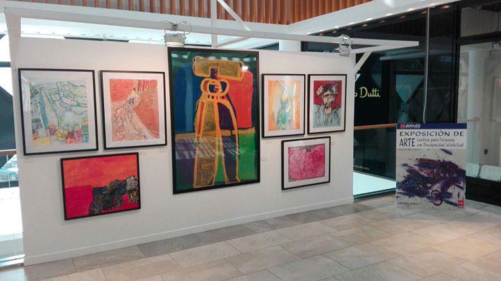 Exposición 'Trazos 3' de arte inclusivo
