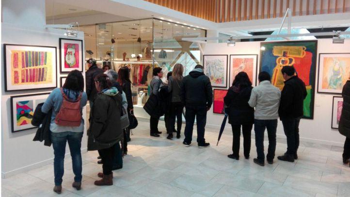 Ciudad Lineal acoge una exposición de arte inclusivo