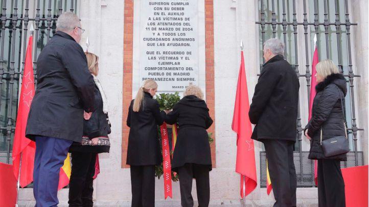 Acto en la Real Casa de Correos en recuerdo del atentado del 11M