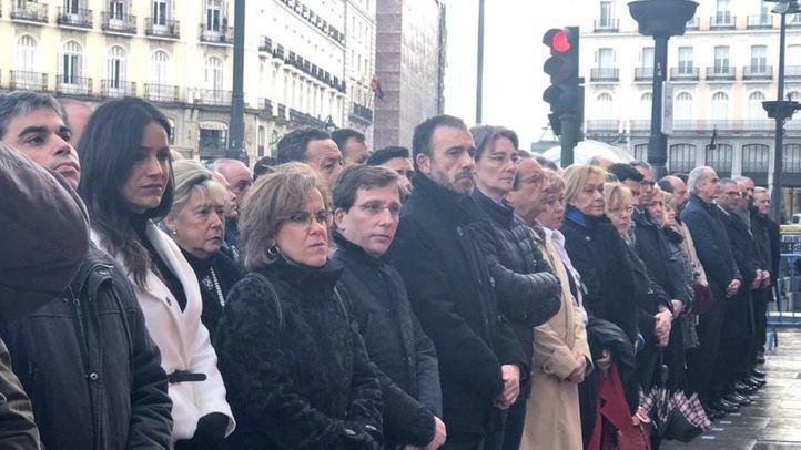 Todos los partidos políticos, unidos en el acto homenaje a las víctimas del 11M