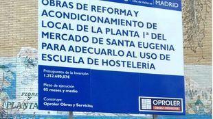 El Mercado de Santa Eugenia contará con una Escuela de Hostelería
