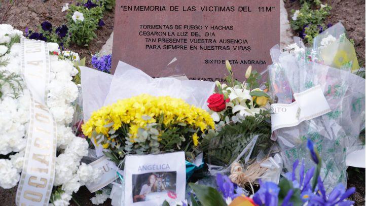 Ofrenda floral en honor a las víctimas del 11-M