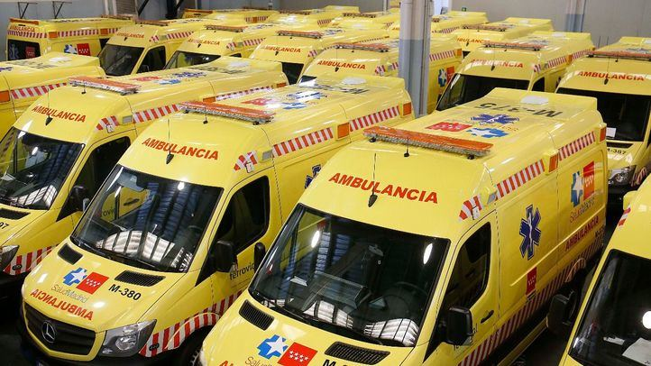 Nuevas ambulancias del Summa.
