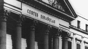 Las Cortes Españolas funcionaron entre 1943 y 1977
